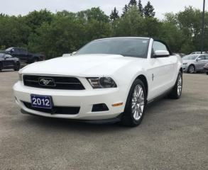 Used 2012 Ford Mustang V6 Premium for sale in Brockville, ON