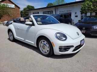 Used 2018 Volkswagen Beetle COAST CONVERTIBLE for sale in Waterdown, ON