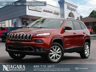 Used 2014 Jeep Cherokee Limited   LOCAL TRADE for sale in Niagara Falls, ON