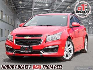 Used 2016 Chevrolet Cruze Limited LT 2LT for sale in Mississauga, ON