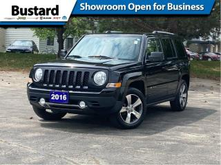 Used 2016 Jeep Patriot FWD 4dr High Altitude | Leather | Sunroof for sale in Waterloo, ON