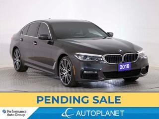 Used 2018 BMW 5 Series 530e xDrive, Hybrid, M-Sport Pkg, Massage Seats! for sale in Brampton, ON