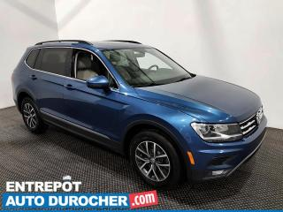 Used 2018 Volkswagen Tiguan Comfortline-AWD -Apple/Android - Bluetooth - Cuir for sale in Laval, QC
