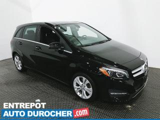 Used 2017 Mercedes-Benz B-Class B 250 Sports Tourer - AWD - Navigation - Cuir for sale in Laval, QC