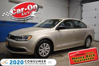 Used 2012 Volkswagen Jetta 2.0L  AUTO | COLD WEATHER PACKAGE | A/C | CRUISE C for sale in Ottawa, ON