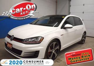 Used 2015 Volkswagen Golf GTI 5-Door Autobahn   18' AUSTIN ALLOYS   FENDER AUDIO for sale in Ottawa, ON