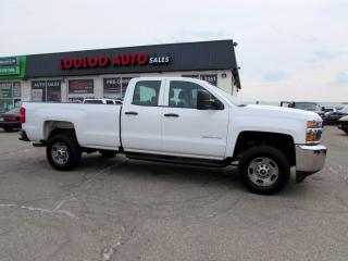 Used 2019 Chevrolet Silverado 2500 HD Work Truck Double Cab 6.0L V8 No Accident Certified for sale in Milton, ON