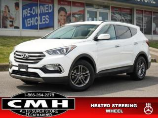 Used 2018 Hyundai Santa Fe Sport Premium  CAM P/SEAT HTD-S/W 17-AL for sale in St. Catharines, ON