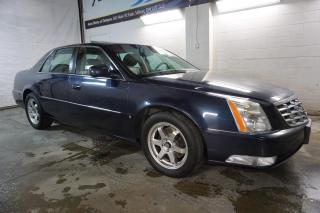 Used 2009 Cadillac DTS V8 LUXURY CERTIFIED 2YR WARRANTY SUNROOF BLUETOOTH HEAT/COLD LEATHER BLUETOOTH FRONT/BACK SENSORS for sale in Milton, ON
