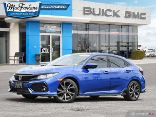 Used 2018 Honda Civic Hatchback Sport for sale in Petrolia, ON