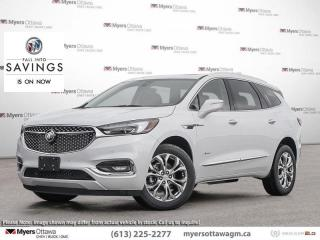 Used 2021 Buick Enclave Avenir  - Navigation -  Sunroof for sale in Ottawa, ON