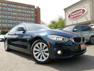 Used 2015 BMW 428i xDrive Gran Coupe CLEAN CARFAX   NAVI   CAM  ROOF   4 NEW SNOW TIRES*   for sale in Scarborough, ON