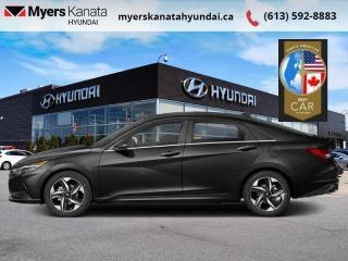 New 2021 Hyundai Elantra Ultimate IVT  - $220 B/W for sale in Kanata, ON