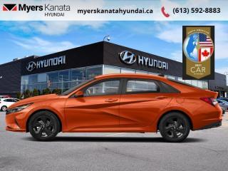 New 2021 Hyundai Elantra Preferred IVT  - $175 B/W for sale in Kanata, ON