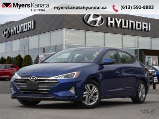 Used 2020 Hyundai Elantra Preferred w/Sun & Safety Package IVT  - $141 B/W for sale in Kanata, ON