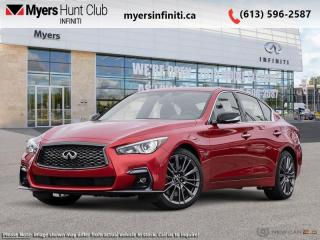 New 2021 Infiniti Q50 Red Sport 400 i-LINE ProACTIVE for sale in Ottawa, ON
