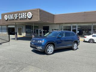 Used 2019 Volkswagen Atlas EXECLINE AWD WITH AUTONOMOUS BRAKING for sale in Langley, BC