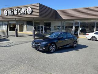 Used 2019 Honda Civic Touring WITH AUTONOMOUS BRAKING for sale in Langley, BC