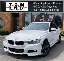 Used 2015 BMW 3 Series 328i xDrive M-Sport NAVI Sunroof Red Leather Clean Carfax for sale in North York, ON