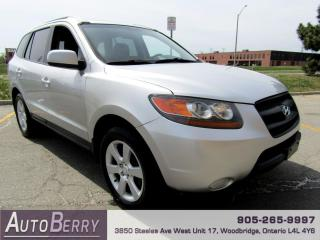 Used 2007 Hyundai Santa Fe GLS Leather FWD Low Km! for sale in Woodbridge, ON