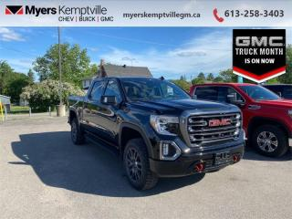 New 2021 GMC Sierra 1500 AT4 CarbonPro Edition  - Sunroof for sale in Kemptville, ON