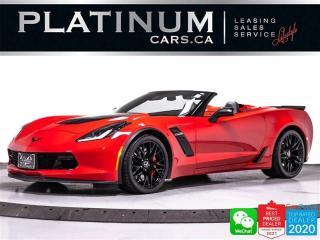 Used 2015 Chevrolet Corvette Z06 Convertible 3LZ PKG,650HP, MANUAL, NAV, CAM for sale in Toronto, ON