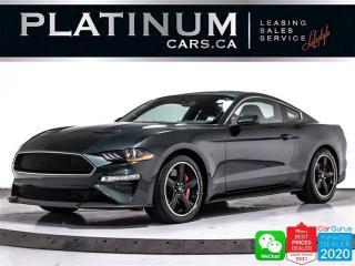 Used 2020 Ford Mustang BULLITT, V8, 480HP, MANUAL, CAM, NAV, BT for sale in Toronto, ON