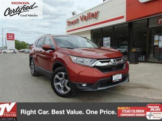 Used 2017 Honda CR-V EX AWD for sale in Peterborough, ON