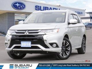 Used 2018 Mitsubishi Outlander Phev GT - ONE OWNER  - CLEAN CARFAX ! for sale in Sudbury, ON