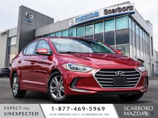 Used 2018 Hyundai Elantra REAR CAMERA BLIND SPOT MONITOR 1 OWNER CLEAN CARFA for sale in Scarborough, ON