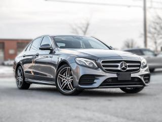 Used 2018 Mercedes-Benz E-Class E 300 4MATIC  NAV  HUD PANOROOF IDP  AMG  LOADED T for sale in Toronto, ON