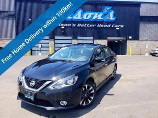 Used 2016 Nissan Sentra SR, Leather, Navigation, Sunroof, Heated Seats, Reverse Camera, Cruise Control and more! for sale in Guelph, ON