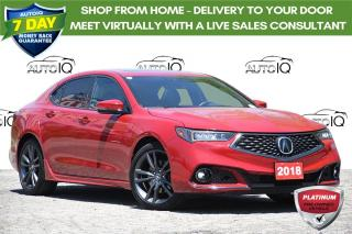 Used 2018 Acura TLX Tech A-Spec NAV | HEATED SEATS | AWD for sale in Kitchener, ON