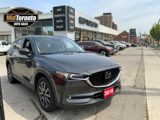 Used 2018 Mazda CX-5 Grand Touring AWD - Navi - Power Roof - Leather - One Owner for sale in North York, ON