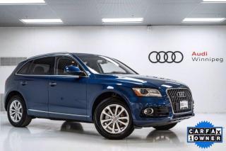 Used 2017 Audi Q5 2.0T Progressiv w/Navigation *LOCAL TRADE* for sale in Winnipeg, MB