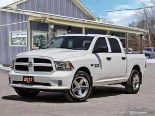 Used 2017 RAM 1500 Express, 4X4, CREWCAB, TOW PKG, NEW TIRES for sale in Orillia, ON