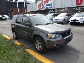 Used 2005 Ford Escape Limited ~ 4WD ~ LEATHER ~ SUNROOF ~ NO RUST for sale in Toronto, ON
