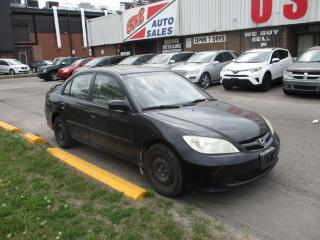 Used 2005 Honda Civic LX-G ~ SUNROOF ~ SPOILER ~ AUTO ~ ICE COLD A/C for sale in Toronto, ON