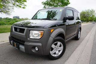 Used 2003 Honda Element 1 OWNER / NO ACCIDENTS / WELL SERVICED / for sale in Etobicoke, ON