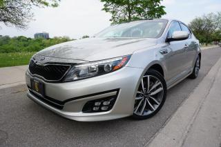 Used 2014 Kia Optima SX TURBO / IMMACULATE / NAVIGATION / PANOROOF for sale in Etobicoke, ON