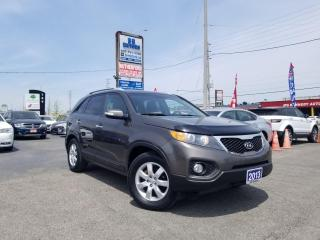 Used 2013 Kia Sorento No Accidents| 1 Owner | FWD | V6 | LX | Certified for sale in Brampton, ON