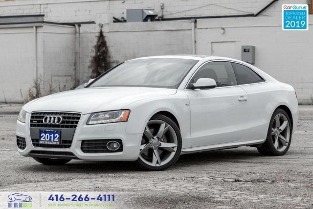 2012 Audi A5 2.0L Premium|S-Line|Sirius|Roof|