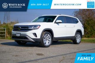 Used 2021 Volkswagen Atlas 3.6 FSI Highline * LEATHER INTERIOR * * PANORAMIC SUNROOF * * HEATED AND VENTILATED SEATS* for sale in Surrey, BC