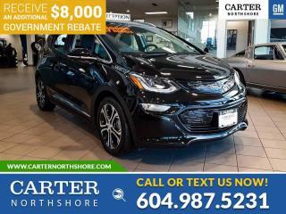 New 2021 Chevrolet Bolt EV Premier for sale in North Vancouver, BC