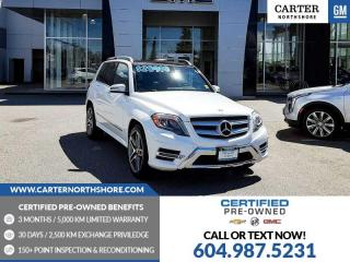 Used 2015 Mercedes-Benz GLK-Class NAVIGATION - MOONROOF - LEATHER for sale in North Vancouver, BC