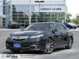 Used 2014 Acura TL LEATHER | SUNROOF | HEATED SEATS | AWD for sale in Burlington, ON