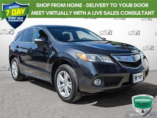 Used 2015 Acura RDX   NO ACCIDENTS   NAVIGATION   POWER MEMORY SEAT   for sale in Barrie, ON
