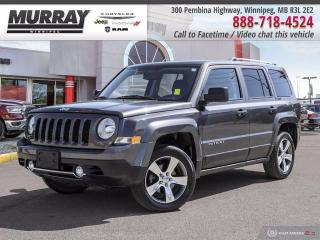 Used 2017 Jeep Patriot 4WD 4DR HIGH ALTITUDE EDITION for sale in Winnipeg, MB