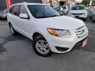 Used 2011 Hyundai Santa Fe GL,NO ACCIDENT, ALLOY WHEELS, CERTIFIED for sale in Mississauga, ON