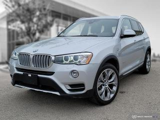 Used 2017 BMW X3 xDrive28i 4 New Tires and font Brakes! Premium Enhanced! for sale in Winnipeg, MB